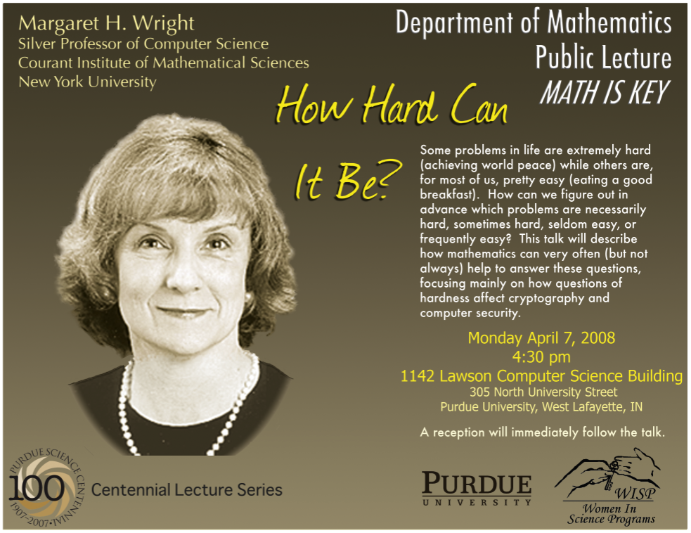 How Hard Can It Be - Lecture Poster