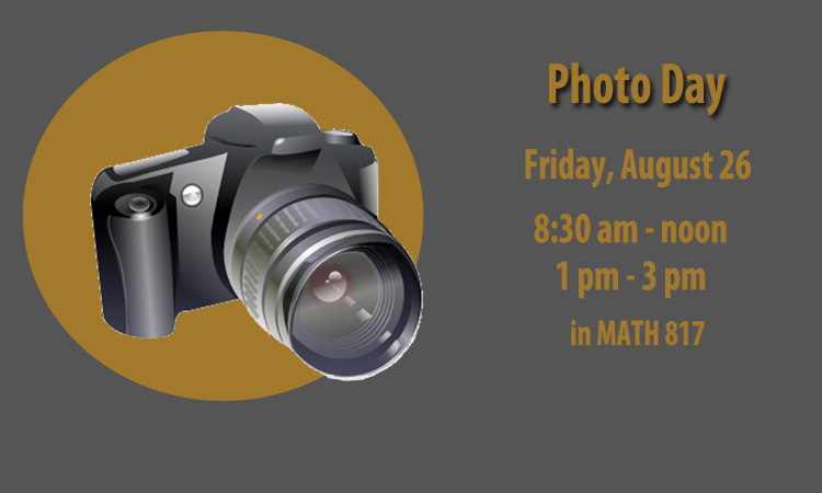 Photo Day, Friday Aug. 26