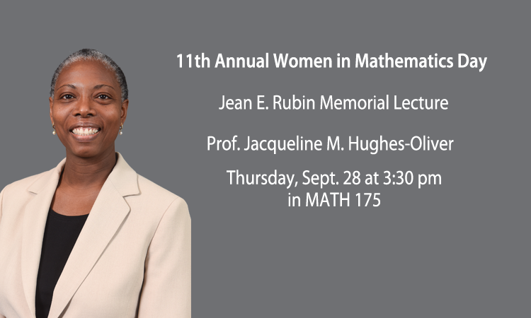 11th Annual Women in Math Day, Sept. 28