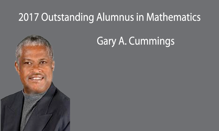 2017 Outstanding Alumnus in Mathematics