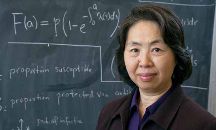 Prof. Feng's research featured in annual report