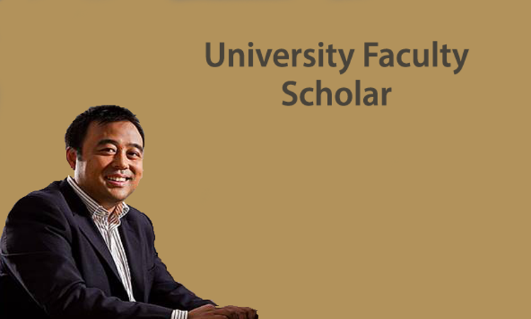 Professor Guang Lin named as a University Faculty Scholar.