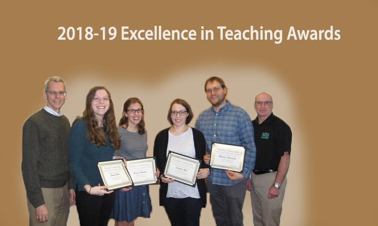 2018-19 Certificate in Teaching Awards