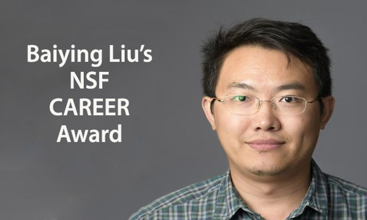 Baiying Liu's NSF CAREER Award