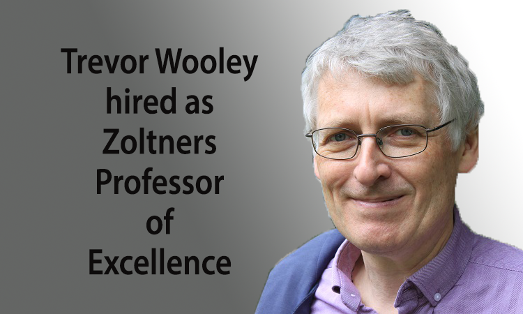 Trevor Wooley named the Andris A. Zoltners Distinguished Professor of Mathematics at Purdue University