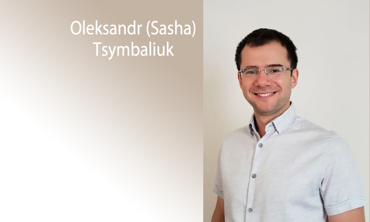 Assistant Professor Oleksandr Tsymbaliuk to join faculty in August 2020