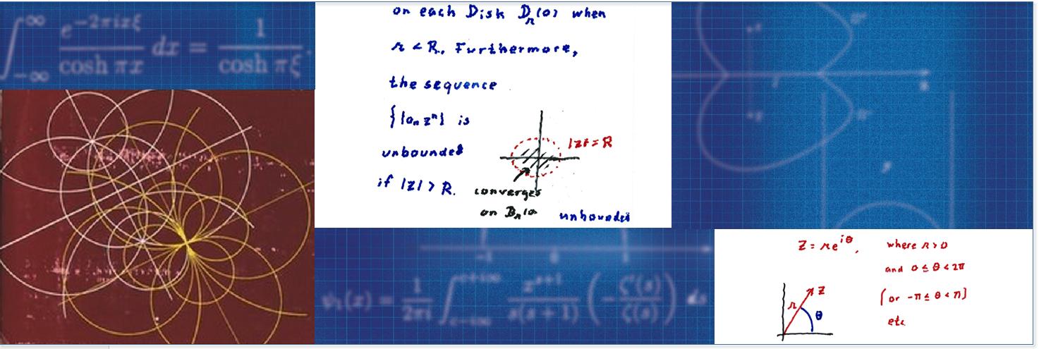 Professor Dave Catlin Ma530 Complex Analysis